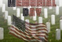 Memorial Day / To remember and honor the men and women who died while in the military service to our country. They gave their lives to protect us and our country and grant us Freedom.