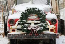 C H R I S T M A S / Winter Wonderland. Christmas Celebration.