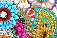 Zentangle (or adult coloring book)