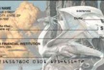 Dragon Personal Checks / Many styles of dragon personal checks. / by FairyLynne