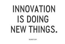 Innovation / Great ideas, great design, great products.