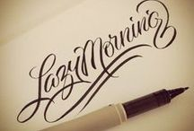 Calligraphy / by ♥ Rolande B. ♥