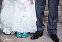 Weddings - Shoes / Photos of our brides and their shoes!
