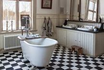 Home: BATHROOM Dreaming / Even if I have the tiniest bathroom in the world, one can dream.... / by Songbird Blog