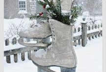 Decor : WINTER / Decorating ideas inspired by the winter season / by Songbird Blog