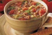 Soups / by Elizabeth Bender