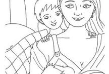 Breastfeeding Imagery and Art / Beautiful images of breastfeeding mothers and babies.