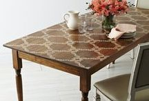 Decor: TABLES and desks / Tables are my hot spots I want them functional and beautiful / by Songbird Blog