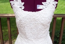 Designing with Lace / Sewing and crafting with Lace. Design ideas using lace.