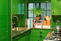 Kitchens 2 Cook N / I spend a lot of time in my kitchen so I think it should be beautiful as well as practical : )