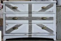 Decor: DRESSERS, nightstands and closets / Furniture that provides beauty and storage / by Songbird Blog
