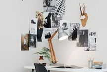Home: OFFICE Dreaming / Why work in a boring office if you could work in a beautiful one / by Songbird Blog