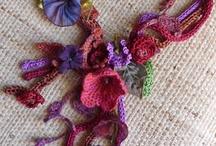 crochet Jewelry / by Joan Hinchcliff