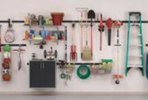 Garage & Outdoor Organization / by Rubbermaid