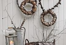 Decor: FALL decorating / Seasonal decorating in Fall (or Autumn) / by Songbird Blog