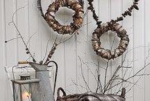 Autumn home / Seasonal decorating in Fall (or Autumn)
