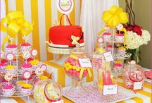 parties/ shower themes / Birthday party, baby shower, wedding showers, and random party ideas