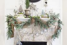 Mantels / Mantel decorations and other horizontal displays.