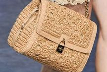 crochet handbags & accessories