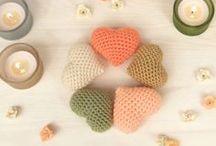 crochet hearts, butterflies, stars and more...