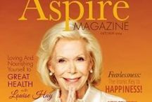 #AspireMag | Inspiration for a Woman's Soul | Claim your Free Subscription at www.AspireMag.net / See for yourself over 30,000 women have claimed #AspireMag's free subscription offer which includes access to over 40 personal development gifts and much more.  www.SubscribetoAspire.com