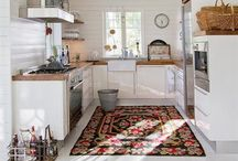 spaces // kitchen / kitchens and dining rooms. / by Jessie Rodger