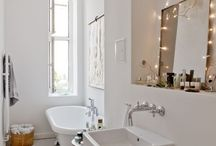 spaces // bath / bathrooms / by Jessie Rodger