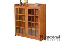 Homestead Furniture Bookcases / by Homestead Furniture