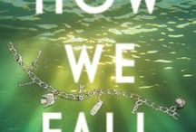 How We Fall by Kate Brauning / YA novel. In the wake of her best friend's disappearance, 17-year-old Jackie throws herself into an obsessive relationship with her cousin, only to find out her best friend's secrets might take him, too. http://www.katebrauning.com/