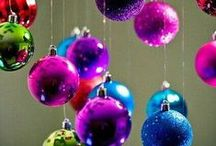 Christmas Ball Ornaments & Displays / by Heather Cox