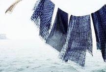 Indigo / A collection of stunning indigo blue tones