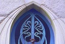 Art Nouveau Architecture & Furniture / Art Nouveau, 1890-1910. Belle Epoque, 1871-1914. Edwardian, 1901-1910  / by Heather Cox