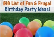 Birthday Party Ideas! / by Misty Gutierrez