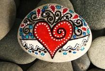 Painted Rocks! Love :) / by Niki Emel