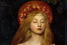 Pre-Raphaelites / Arts & Crafts Movement / The artists and the art that changed the world / by Debi Levins