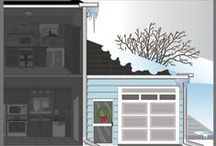 Winter Tips for the Home / Keeping up with the winter maintenance on the exterior of your home will not only keep your home looking its best, but it can keep your home and family safe and secure also. The type of winter exterior home repair and maintenance you need may vary depending on your location and the type of home you're living in. Different climates call for different exterior materials and seasonal maintenance schedules.
