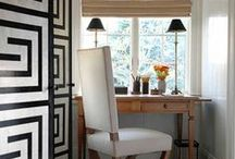 Greek Key Love / Decorating the home with the Greek key pattern. Ideas, inspiration and tips!