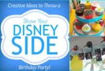 Disney Side Home Celebration / Ideas for hosting a Disney Side Party! From invitations, decorations, food everything to make your celebration magical! #DisneySide / by Tania Luviano
