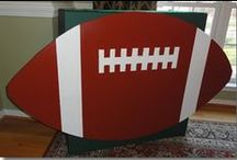 Super Bowl Party Ideas / Games, decorations and general ideas for Super Bowl parties