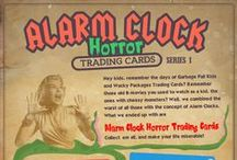 Alarm Clock Horror / Here you'll find Pins relating to OnlineClock.net's Alarm Clock Horror Trading Cards project. It's fun! / by Online Clock