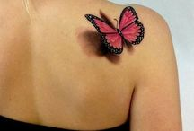 Butterfly Tattoos / Celebrating the art of tattoo with the beauty of nature.