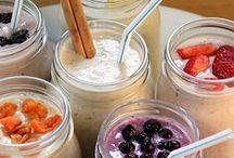 Healthy Breakfast Smoothies / This luscious concoctions make getting up and properly fueled easy and yummy.