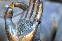 Buddha Hands / There's something about ancient hands that make me stop worrying about mine.