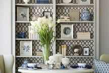 Bookcase Styling / Here are creative ideas to turn your bookcase into a showcase.