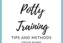Potty Training Tips and Methods / Potty training tips and methods. How to potty train, when to potty train, and tips for potty training from experienced moms.