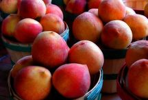 Peachy Keensville / georgia peaches / by Mary Beth Burrell