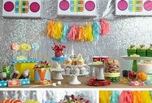 Birthdays / Ideas, inspiration and party supplies for every kind of children's party imaginable. / by Sarah Manuel