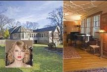 Celebrity homes / Peek-a-boo at the lavish lifestyles of the Richie Rich's of the world!