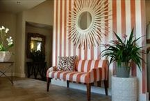 Decorating with stripes! / Fancy stripes? Let your decor pop with the beautiful traces of stripes!