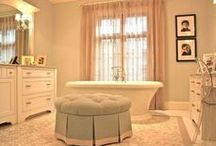 Bathroom Bliss / Your little oasis!   Make it all jazzy and organized.